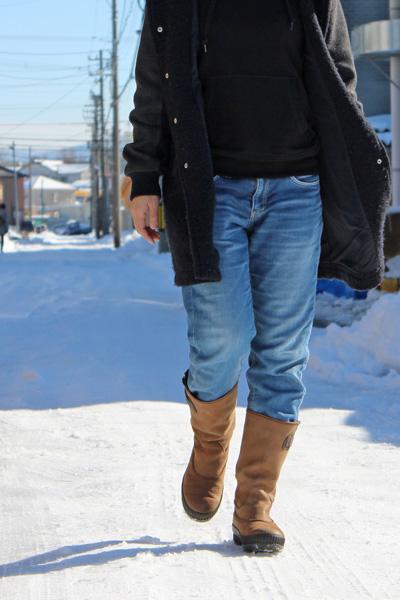 雪の日におすすめのブーツ2