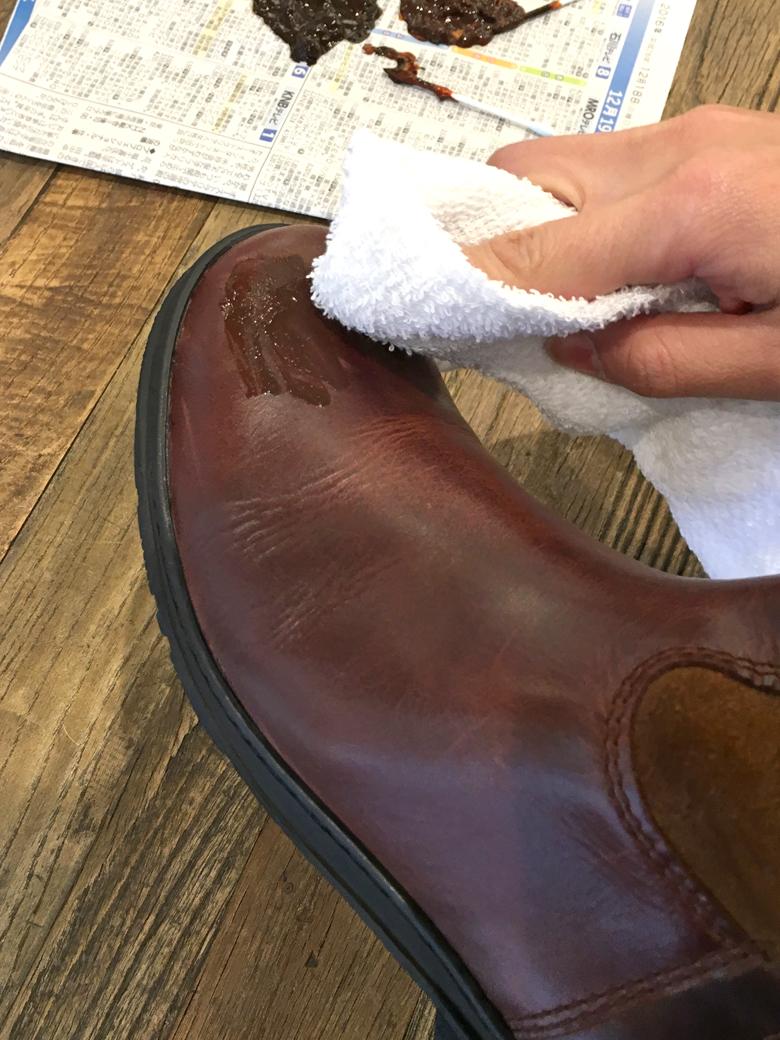 革靴のお手入れ6