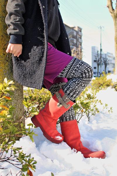 雪の日におすすめのブーツ