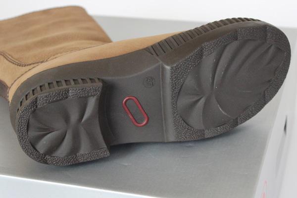 レインブーツの靴底